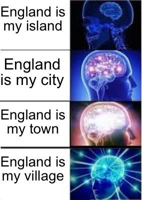 Meme Creator - Funny England is my island England is my village