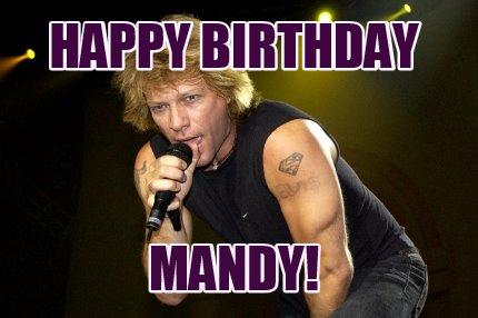4643217 meme creator happy birthday mandy! meme generator at memecreator org!