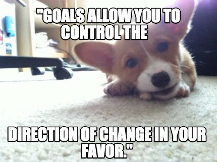 goals-allow-you-to-control-the-direction-of-change-in-your-favor