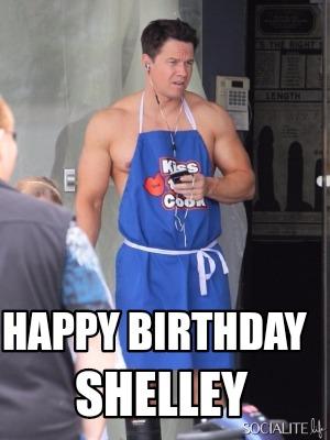 Meme Creator - Happy birthday Shelley Meme Generator at ... Mark Wahlberg