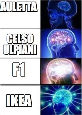 Meme Creator - Funny auletta ikea celso ulpiani f1 Meme Generator at