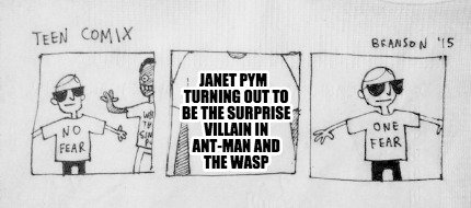 Meme Creator Funny Janet Pym Turning Out To Be The Surprise