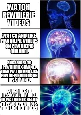 Meme Creator - Funny watch pewdiepie videos Watch and like