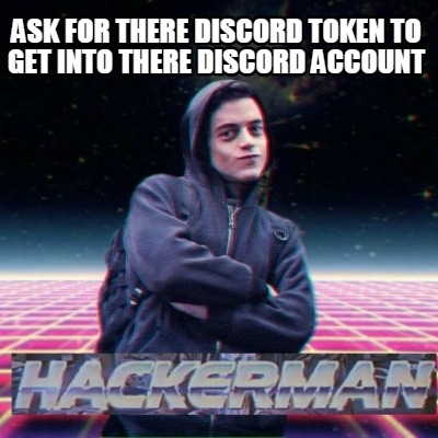 Meme Creator - Funny Ask for there discord token to get into