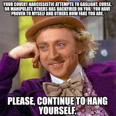Meme funny narcissist 51+ Narcissistic