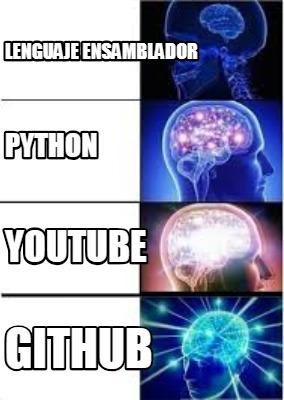 Meme Creator - Funny Lenguaje ensamblador Python Youtube