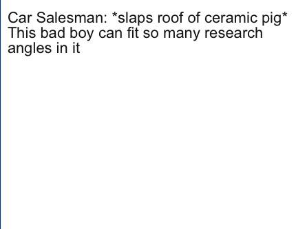Meme Creator Funny Car Salesman Slaps Roof Of Ceramic Pig This