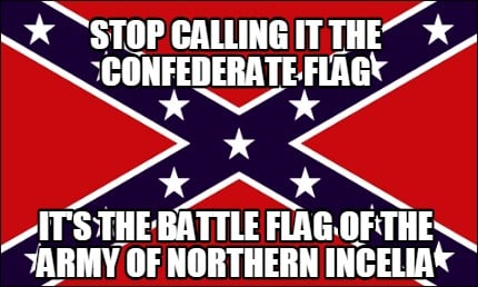The Real Confederate Flag Meme