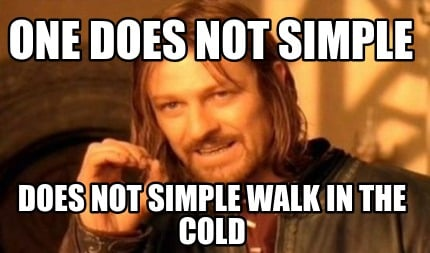 one-does-not-simple-does-not-simple-walk-in-the-cold