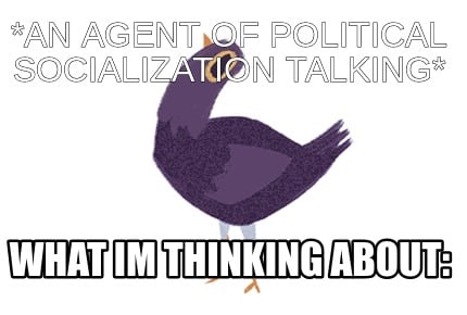 an-agent-of-political-socialization-talking-what-im-thinking-about