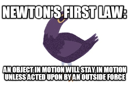 newtons-first-law-an-object-in-motion-will-stay-in-motion-unless-acted-upon-by-a