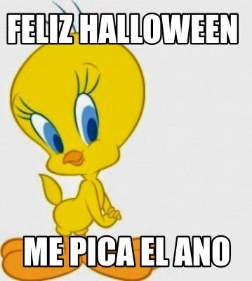 Meme Creator - Funny feliz halloween me pica el ano Meme Generator