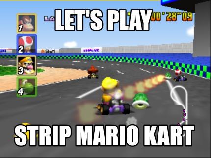 Meme Creator Mario Kart Meme Generator At Memecreator Org