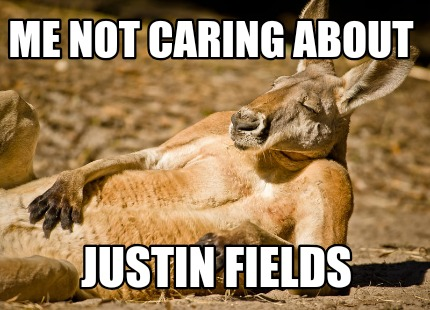 Meme Creator Funny Me Not Caring About Justin Fields Meme