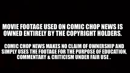 Meme Creator - Funny Movie Footage Used on Comic Chop News