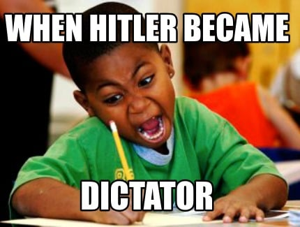 when-hitler-became-dictator