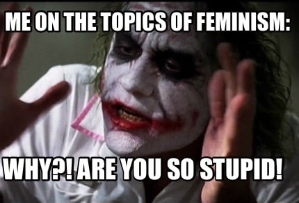 me-on-the-topics-of-feminism-why-are-you-so-stupid