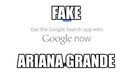 Meme Creator - Funny Fake Ariana Grande Meme Generator at