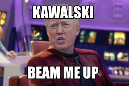 kawalski-beam-me-up
