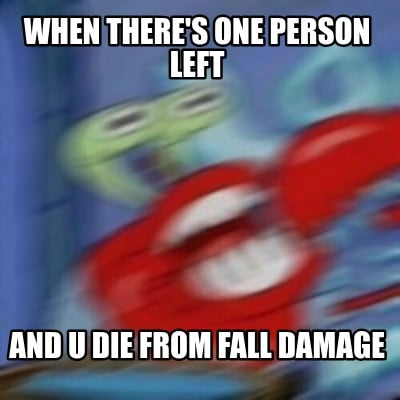 when-theres-one-person-left-and-u-die-from-fall-damage