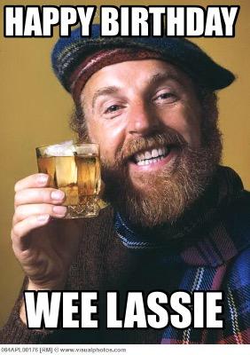 Meme Creator Funny Happy Birthday Wee Lassie Meme Generator At