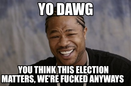 yo-dawg-you-think-this-election-matters-were-fucked-anyways