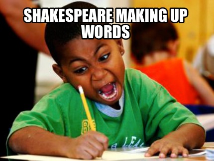 shakespeare-making-up-words