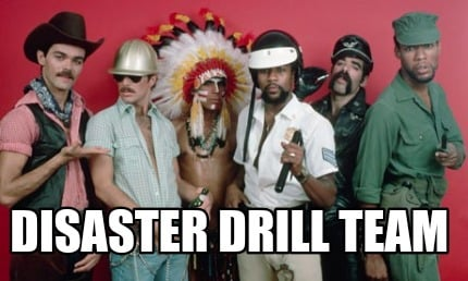 disaster-drill-team