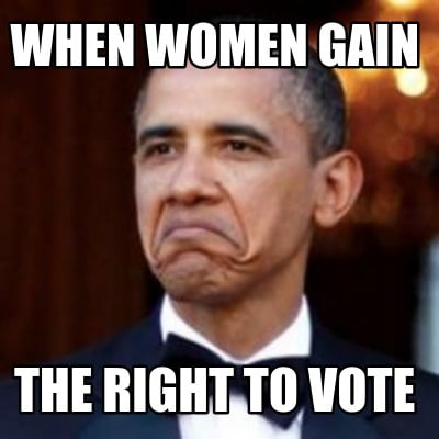when-women-gain-the-right-to-vote
