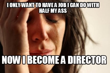 i-only-want-to-have-a-job-i-can-do-with-half-my-ass-now-i-become-a-director