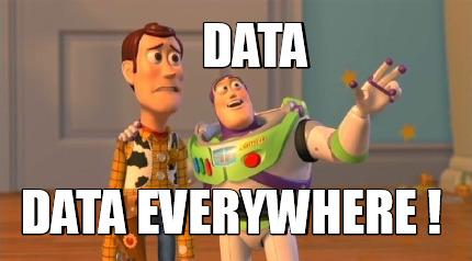 Meme Creator - Funny data data everywhere ! Meme Generator at  MemeCreator.org!