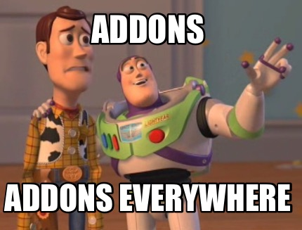 addons-addons-everywhere