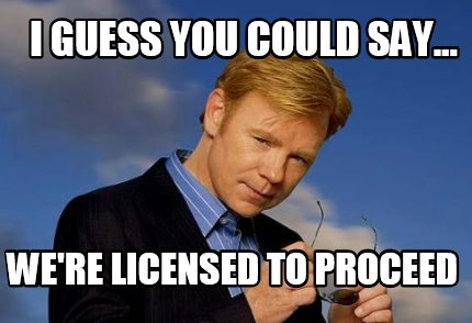 i-guess-you-could-say...-were-licensed-to-proceed