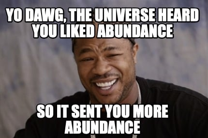 yo-dawg-the-universe-heard-you-liked-abundance-so-it-sent-you-more-abundance