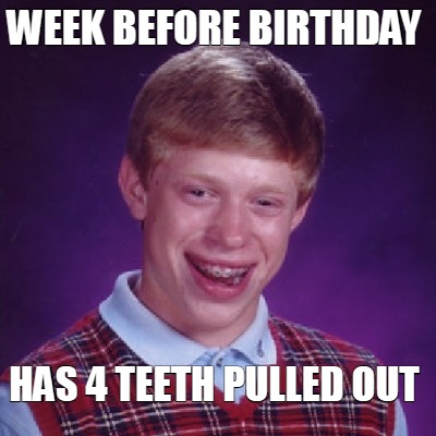week-before-birthday-has-4-teeth-pulled-out
