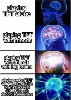 Meme Creator - Funny playing TFT alone playing TFT with friends