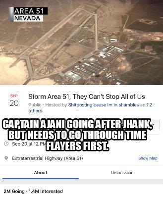 Meme Creator - Funny See us in Rachel, Nevada at Area 51