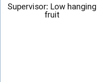 supervisor-low-hanging-fruit