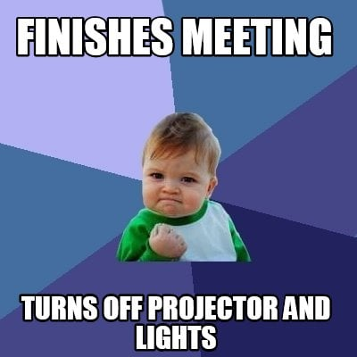 finishes-meeting-turns-off-projector-and-lights