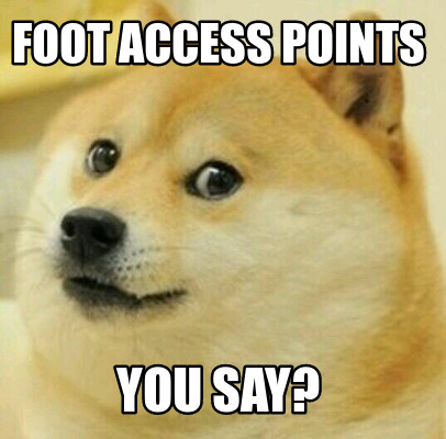 foot-access-points-you-say