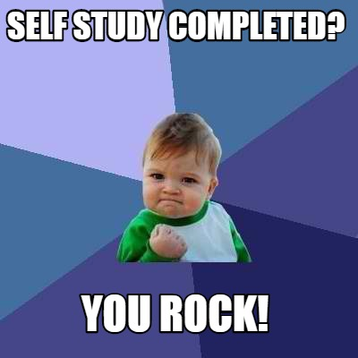 self-study-completed-you-rock