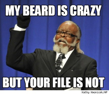 my-beard-is-crazy-but-your-file-is-not