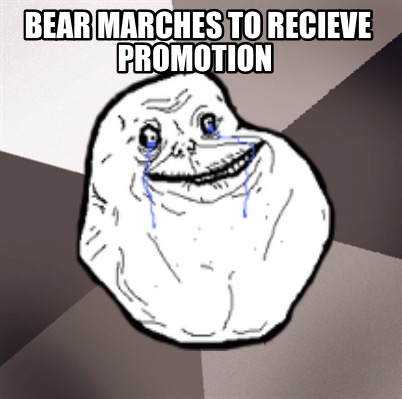 bear-marches-to-recieve-promotion