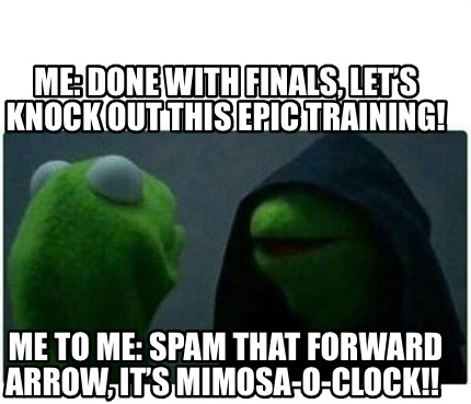 me-done-with-finals-lets-knock-out-this-epic-training-me-to-me-spam-that-forward