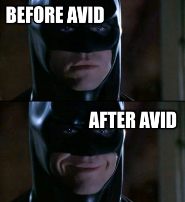 before-avid-after-avid