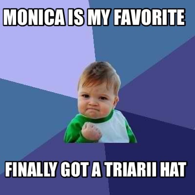 monica-is-my-favorite-finally-got-a-triarii-hat