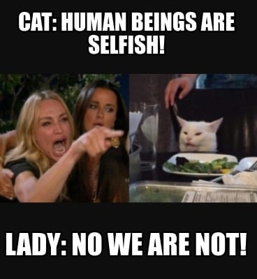 cat-human-beings-are-selfish-lady-no-we-are-not