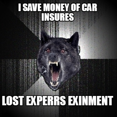i-save-money-of-car-insures-lost-experrs-exinment