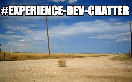 experience-dev-chatter