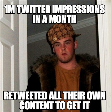 1m-twitter-impressions-in-a-month-retweeted-all-their-own-content-to-get-it